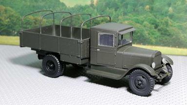 RUSAM-ZIS-5-10-000 — Грузовой автомобиль ЗиС-5 бортовой с дугами, 1:87, 1933—1958, СССР