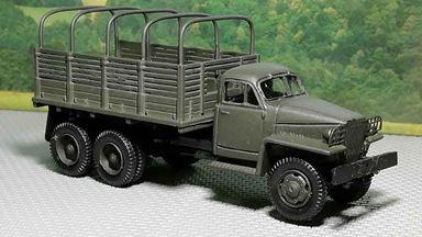 RUSAM-STUDEBAKER-22-900 — Грузовой автомобиль Studebaker высокий борт с дугами по кузову, 1:87, 1941—1945, США