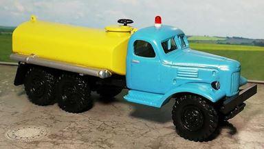 RUSAM-ZIL-157-60-640 — Автоцистерна ЗИЛ 157 для полива и перевозки воды, 1:87, 1958—1994, СССР
