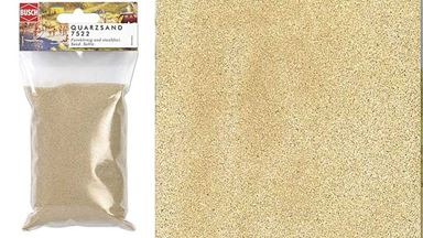 BUSCH 7522 — Песок бежевый (320 г), 1:10—1:1000