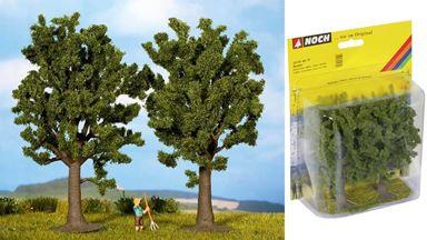 NOCH 25170 — Бук ~130мм (упаковка 2 дерева), 1:87—1:120