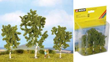 NOCH 25120 — Берёзы (3 дерева ~80 и 100мм), 1:72—1:120