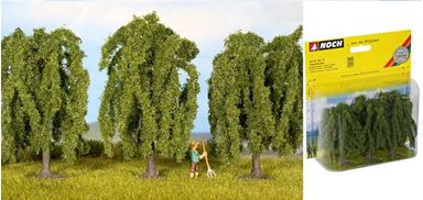 NOCH 25130 — Плакучие ивы (3 дерева ~80мм), 1:87—1:120