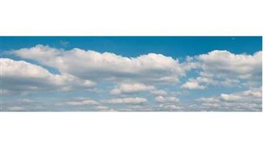 VOLLMER 46105 — Фон «Облака» (2660×800мм), 1:10–1:500
