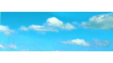 VOLLMER 46112 — Фон «Облака» (2660×480мм), 1:10–1:500