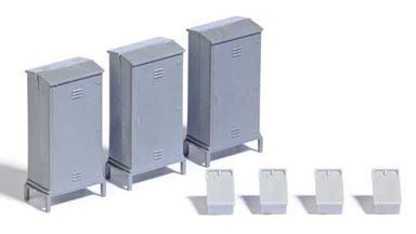BUSCH 7792 — Шкафы переключения и телефонные ящики, 1:87