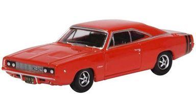 BUSCH 201129436 — Автомобиль Dodge Charger (красный), 1:87, 1968