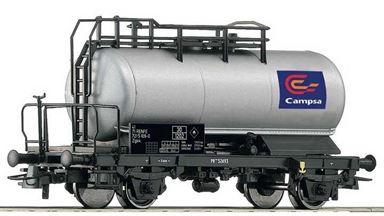 ROCO 56254 — Вагон-цистерна 2-осная «CAMPSA», H0, IV—V, RENFE