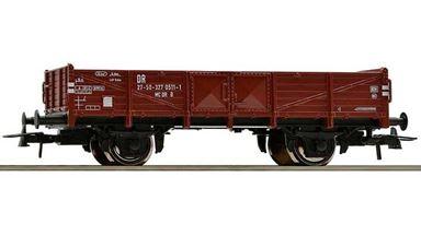ROCO 56017 — Полувагон с низкими бортами коричневый, H0, IV, DR