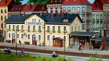 AUHAGEN 11346 — Вокзал «Klingenberg-Colmnitz», 1:87