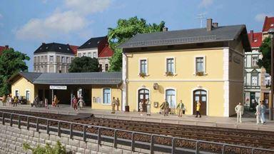 AUHAGEN 11369 — Вокзал «Plottenstein», 1:87