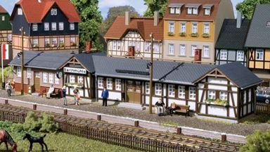 AUHAGEN 11418 — Вокзал «Barthmühle», 1:87, 1935
