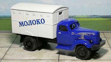 RUSAM-ZIL-164-41-708 — Автомобиль ЗИЛ 164 с будкой «МОЛОКО», 1:87, 1957—1964, СССР