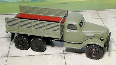 RUSAM-ZIL-157-24-000 — Автомобиль грузовой ЗИЛ 157 (с лавками вдоль борта), 1:87, 1958—1991, СССР