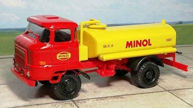 RUSAM-IFA-65-245 — Автомобиль бензовоз IFA® W50 «MINOL», 1:87, 1965—1990