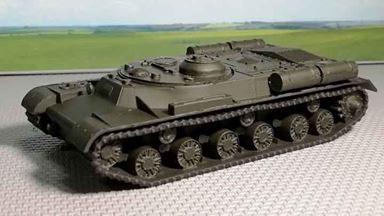 RUSAM-IS-000 — Танковый тягач на базе танка ИС, 1:87, 1943—1953, СССР