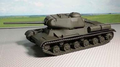 RUSAM-IS-1-000 — Танк ИС-1, 1:87, 1943—1944, СССР