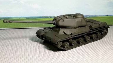 RUSAM-IS-2-000 — Танк ИС-2, 1:87, 1943—1945, СССР