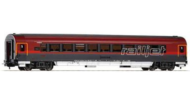PIKO 57642 — Пассажирский вагон «Railjet» 1 кл., H0, VI, ÖBB