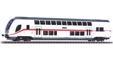PIKO 58800 — 2-этажный пассажирский вагон управления «IC 2» 2 кл., H0, VI, DB AG