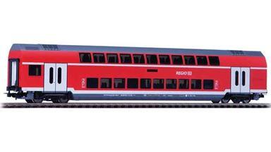 PIKO 58803 — 2-этажный пассажирский вагон «Regio» 2 кл., H0, VI, DB Regio