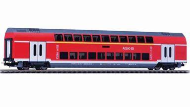 PIKO 58804 — Двухэтажный пассажирский вагон «Regio» 1 и 2 кл., H0, VI, DB Regio