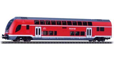 PIKO 58805 — 2-этажный пассажирский вагон управления «Regio», H0, VI, DB Regio