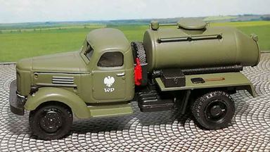 RUSAM-ZIL-164-66-992 — Автомобиль ЗИЛ 164 для перевозки битума, 1:87, 1957—1964, Wojsko Polskie