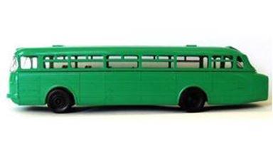 MODELLTEC 14108405 — Пригородный автобус Икарус 66 (зелёный), 1:87, 1955—1973, СССР