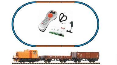 PIKO 59022 — Цифровой стартовый набор «Грузовой состав с тепловозом TGK2», H0, IV, DR, PIKO SmartControl®