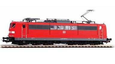 PIKO 51306 — Электровоз BR 151 (красный), H0, VI, DB AG