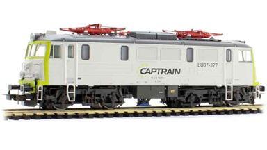 PIKO 96376 — Электровоз BR EU07 «Captrain», H0, VI, Captrain