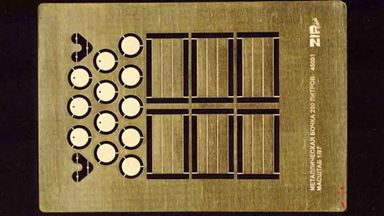RUS ZIP-45001 — Металлические бочки 200 л (6 шт.), 1:87