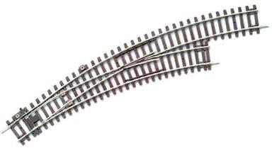 PIKO 55228 — Стрелка правая радиусная BWR-R3 (для R3 и R4), H0