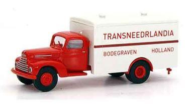 BREKINA 49007 — Грузовой автомобиль Ford® FK 3500 «Transnederlandia», 1:87