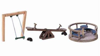 NOCH 14368 — Детская игровая площадка, 1:87,   LaserCut