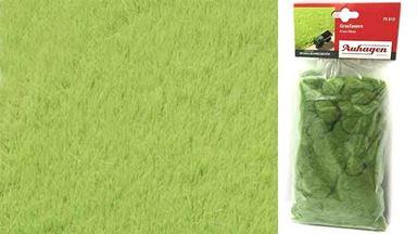 AUHAGEN 75613 — Трава светло-зелёная (флок ~4,5мм, 50 г), 1:35–1:120