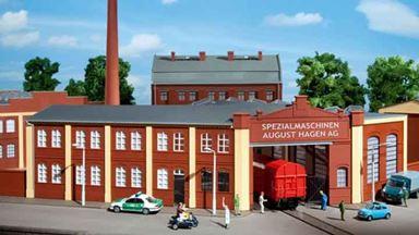 AUHAGEN 11421 — Ворота фабрики «August Hagen AG», 1:87