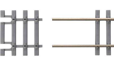 PIKO 55151 — Окончание для рельса флекса ~31мм на шпальной решетке под бетон, H0