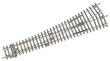 PIKO 55170 — Стрелка прямая левая BS-WL на шпальной решетке под бетон, H0