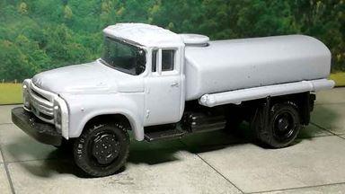 RUSAM-ZIL-130-65-500 — Автоцистерна ЗИЛ 130 для доставки воды, 1:87, 1963—1986, СССР