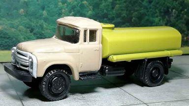 RUSAM-ZIL-130-65-440 — Автомобиль-цистерна ЗИЛ 130 (бежево-жёлтый), 1:87, 1963—1986, СССР