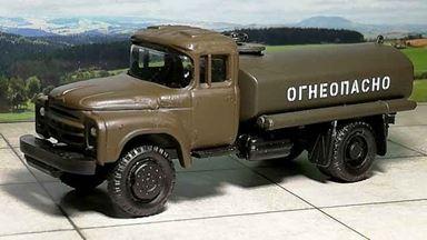 RUSAM-ZIL-130-65-991 — Топливная автоцистерна ЗИЛ 130 «ОГНЕОПАСНО», 1:87, 1963—1986, СССР