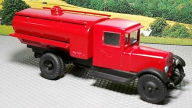 RUSAM-ZIS-5-61-222 — Автоцистерна большая пожарной службы ЗиС-5, 1:87, 1933—1958, СССР