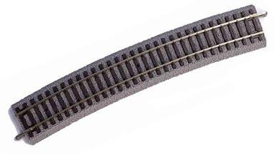 PIKO 55411 — Рельс радиусный R1 ~360мм 30° на призме, H0