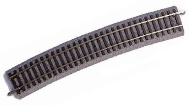 PIKO 55412 — Рельс радиусный R2 ~422мм 30° на призме, H0