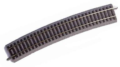 PIKO 55419 — Рельс радиусный R9 ~908мм 15° на призме, H0