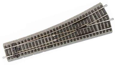 PIKO 55420 — Стрелка левая WL R9 ~239мм на призме, H0