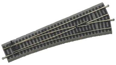 PIKO 55421 — Стрелка правая WR R9 ~239мм на призме, H0