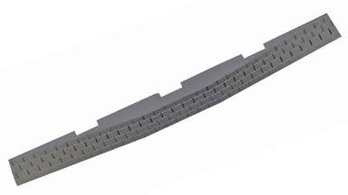 PIKO 55443 — Подложка электропривода левой радиусной стрелки, 6 шт., H0